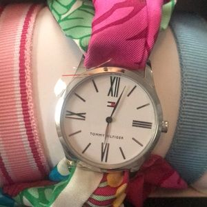 Tommy Hilfiger watch 3 straps